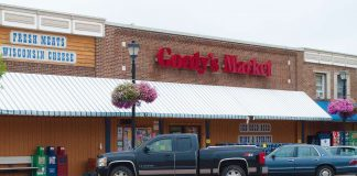 grocery store downtown shell lake gordy's