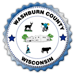graphic washburn county logo seal image